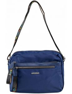 Tmavě modrá dámská textilní kabelka vel. ONE SIZE 140569-514228