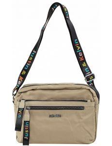 Béžová dámská textilní kabelka vel. ONE SIZE 140586-514245
