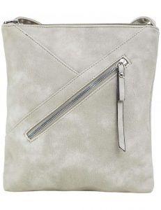 šedá dámská kabelka s prošíváním vel. ONE SIZE 140626-514319