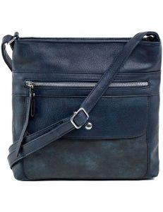 Tmavě modrá dámská kabelka přes rameno vel. ONE SIZE 140690-514432