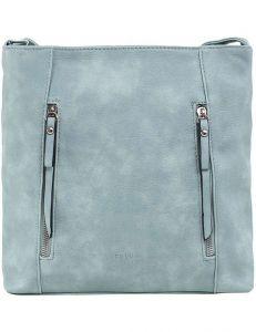 Světle modrá dámská kabelka se zipy vel. ONE SIZE 140699-514442