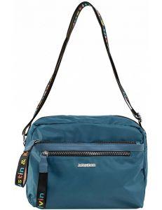 Modrá dámská textilní kabelka vel. ONE SIZE 140725-514475