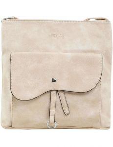 Béžová dámská kabelka s kapsou vel. ONE SIZE 140726-514476