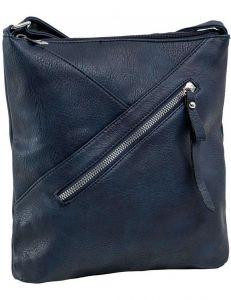 Tmavě modrá dámská kabelka s prošíváním vel. ONE SIZE 140728-514478