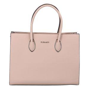 Dámská kabelka přes rameno růžová – FLORA&CO Xenres růžová