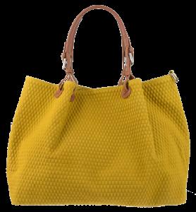 Kožené kabelky výprodej Belloza Gialla