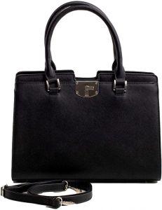 černá shopper pevná kabelka vel. univerzální 114692-522684