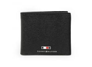 Tommy Hilfiger černá pánská kožená peněženka
