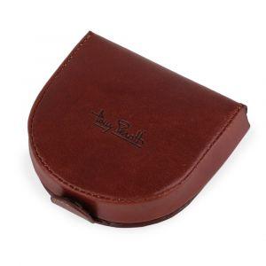Tony Perotti Kožená peněženka na mince Vegetale 1196 – hnědá