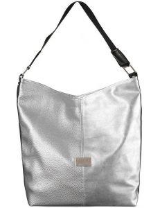 Badura stříbrná sportovní shopper bag vel. ONE SIZE 131538-528558