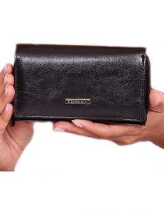 černá dámská kožená peněženka vel. ONE SIZE 143797-528933