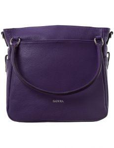 Badura fialová kožená kabelka vel. ONE SIZE 143809-528958