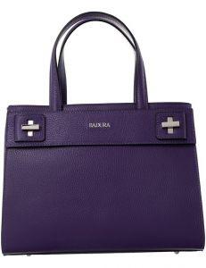 Badura fialová kožená shopper kabelka vel. ONE SIZE 143811-528960