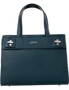 Badura zelená kožená shopper kabelka vel. ONE SIZE 143879-529104