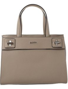 Badura béžová kožená shopper kabelka vel. ONE SIZE 143880-529105