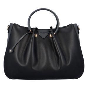 Dámská kabelka do ruky černo šedá – Hexagona Javida černá