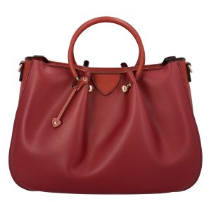 Dámská kabelka do ruky tmavě červená – Hexagona Javida červená