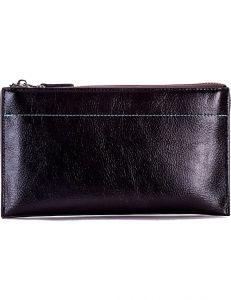 černá dámská lesklá peněženka vel. ONE SIZE 124214-522530