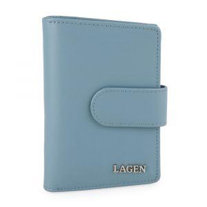 Lagen Dámská kožená peněženka 50313 – modrá