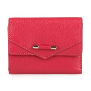 Lagen Dámská kožená peněženka 51623 – červená