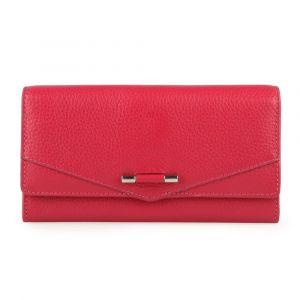 Lagen Dámská kožená peněženka 51457 – červená