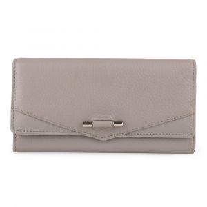 Lagen Dámská kožená peněženka 51457 – šedá