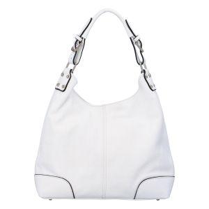 Dámská kožená kabelka bílá – ItalY Inpelle bílá