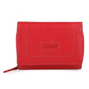 Lagen Dámská kožená peněženka BLC-4230-219 – červená