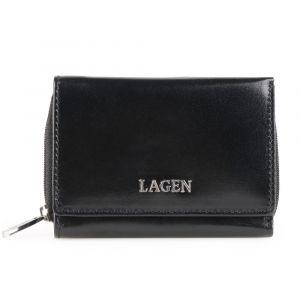 Lagen Dámská kožená peněženka 50453 – černá
