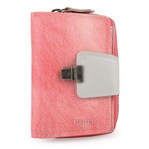 Lagen Dámská kožená peněženka 4495 – růžovo šedá
