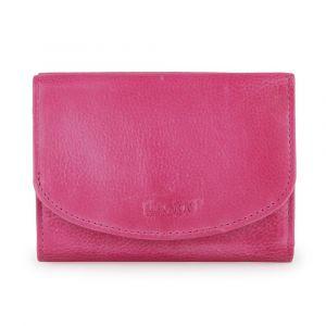 Lagen Dámská kožená peněženka LG-2523-D – růžová