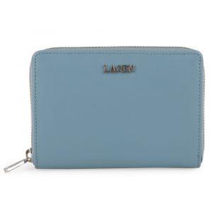 Lagen Dámská kožená peněženka 50309 – modrá