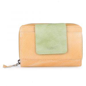 Lagen Dámská kožená peněženka 931 – žlutá