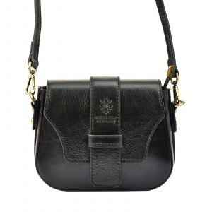 Dámská crosbody kabelka Vera Pelle Gyzell – černá