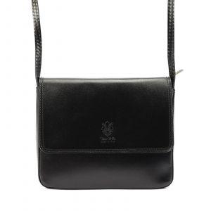Dámská crosbody kabelka Vera Pelle Martinas – černá