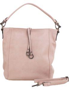 Světle růžová shopper kabelka vel. ONE SIZE 131459-537568