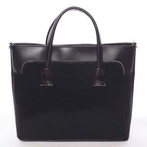 Dámská luxusní kabelka černá – Maggio Landry černá