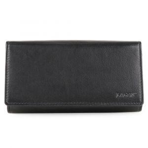 Lagen Kožená číšnická peněženka kasírka LG-01 – černá
