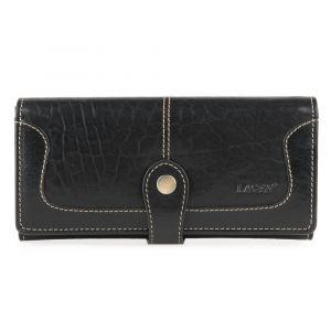 Lagen Dámská kožená peněženka 7545-T – černá