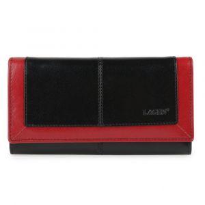 Lagen Dámská kožená peněženka BLC-4228-219 – černo červená