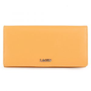 Lagen Dámská kožená peněženka 50310 – žlutá