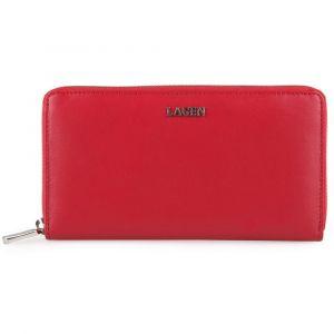 Lagen Dámská kožená peněženka 50353 – červená