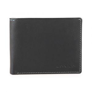 Lagen Pánská kožená peněženka TP-802 – černá