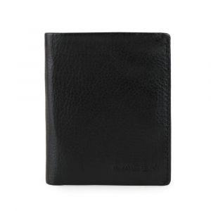 Lagen Pánská kožená peněženka Slim 50620 – černá