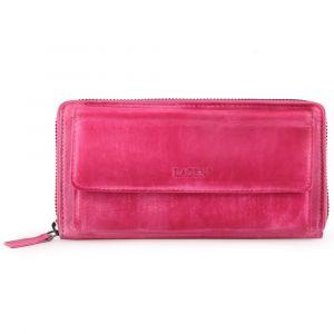Lagen Dámská kožená peněženka 786-017-D – ružová