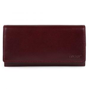 Lagen Dámská kožená peněženka V-62-B – vínová