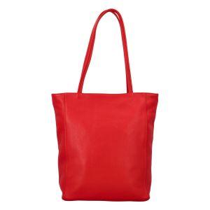 Dámská kožená kabelka Delami Guilia – červená