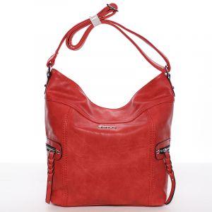 Dámská crossbody kabelka červená – Delami Bernardette II červená