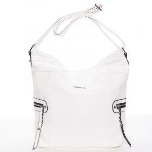Dámská crossbody kabelka bílá – Delami Bernardette II bílá