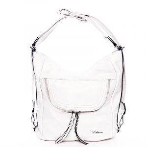 Dámská crossbody kabelka bílá – Delami Laurene bílá